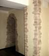 Обрамление углов и арки камнем
