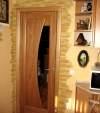 Декоративный камень вокург двери